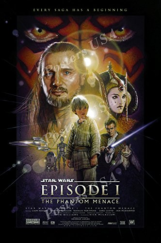 Posters USA - Star Wars Episode I The Phantom Menace Movie Poster GLOSSY FINISH- FIL322 (24