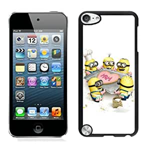 Despicable Me 6 Black Customize iPod Touch 5 5g 5th Generation Cover Case