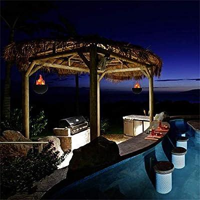 biee Farol decorativa, para colgar con luz LED, luz nocturna, Lámpara de Vela de llama efecto luces: Amazon.es: Iluminación