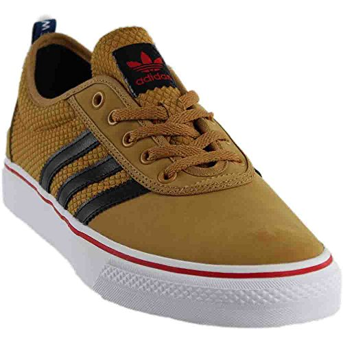 Adidas Originals Adi-ease Lace Up Shoe, Collegiate Red/black/dark Grey Heather Solid Grey, 6.5 M Us Mesa/Core Black/Scarlet