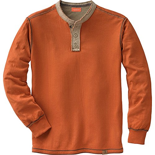 Legendary Whitetails Men's Fully Charged Henley Canyon Large Tall