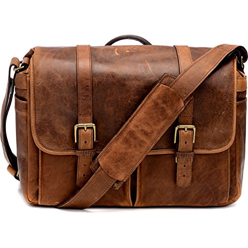 ONA - The Brixton - Camera Messenger Bag - Antique Cognac Leather (ONA5-013LBR)
