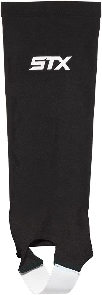 STX Field Hockey Shin Guard Sleeve, Black, One Size : Field Hockey Sticks : Sports & Outdoors