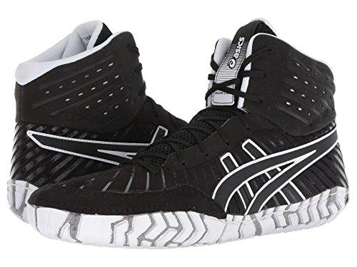 [asics(アシックス)] メンズランニングシューズ?スニーカー?靴 Aggressor 4 Black/Black 9.5 (27.5cm) D - Medium