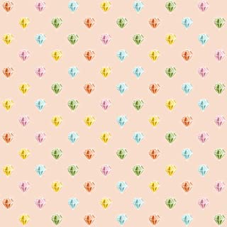 product image for WallCandy Arts Removable Wallpaper, Diamonds
