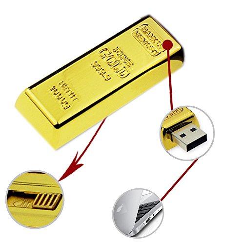 gold bar flash drive - 9