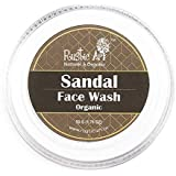 Rustic Art Organic Sandal Face Wash Concentrate for Detanning | Reduce Blemishes, Acne, Whiteheads | 50gm (Pack of 2)