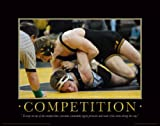 Iowa Hawkeye Wrestling Motivational Poster Art Print 11x14 Kids Shoes Head Gear Singlet