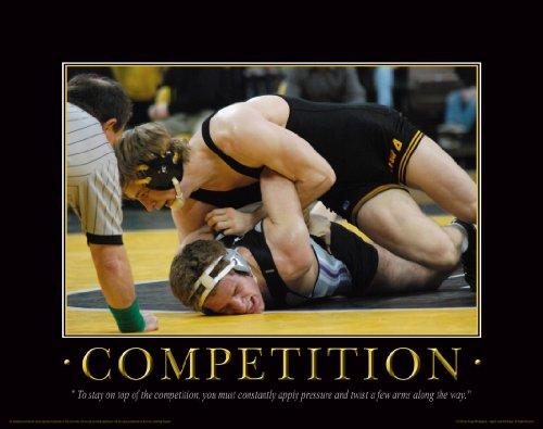 14 Headgear (Iowa Hawkeye Wrestling Motivational Poster Art Print 11x14 Kids Shoes Head Gear Singlet)