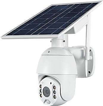 Opinión sobre OWSOO 1080P Cámara Solar WiFi inalámbrico, Cámara Pan Tilt Admite App ISO y Android, Vision Nocturna,IP65 a Prueba de Agua, Intercomunicador de Voz en Tiempo Real, Alarma de Detección de Movimiento