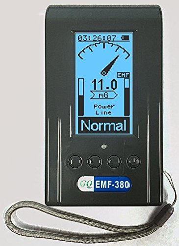 Advanced GQ EMF-380 multi-field Electromagnetic radiation detector EMF Meter RF Spectrum Analyzer