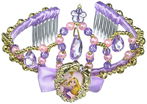 Disguise Rapunzel Classic Disney Princess Tangled Tiara, One Size Child, One Color (Tangled Rapunzel Dress)