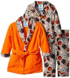 Baby Bunz Baby Boys' 3 Piece Sports Robe and Pajama Set