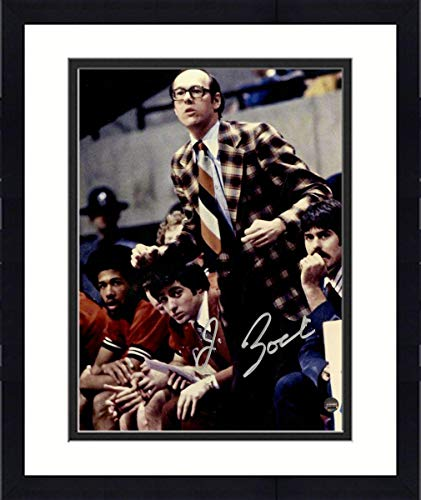 Framed Jim Boeheim Signed Coaching 8x10 Photo - Steiner Sports Certified - Autographed College Photos
