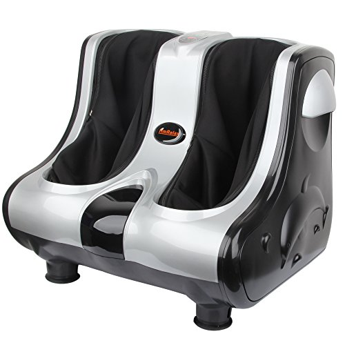Shiatsu Kneading Rolling Vibration Heating Foot Calf Massager Personal Health Studio Leg Beautician