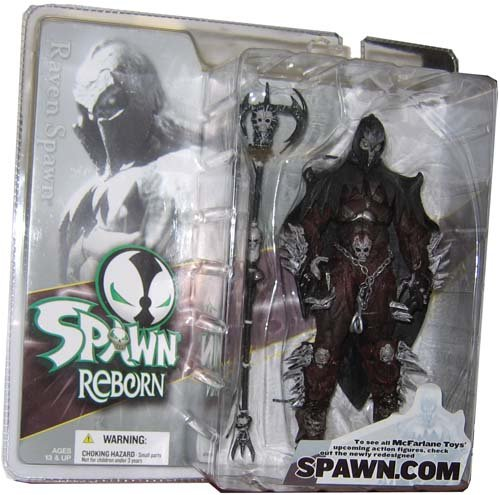 Mcfarlane Spawn Reborn Series #1 Action Figure - Raven Spawn (Mcfarlane Series Toy 1 Spawn)