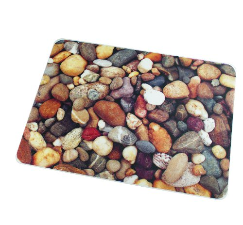 "Colortex Ultimat Photomat, General Purpose Floor Mat for Hard Floors, Rectangular, Reflective Pebbles Design, 36"" x 48"" (FC229220ECPB) -  Floortex USA LLC."