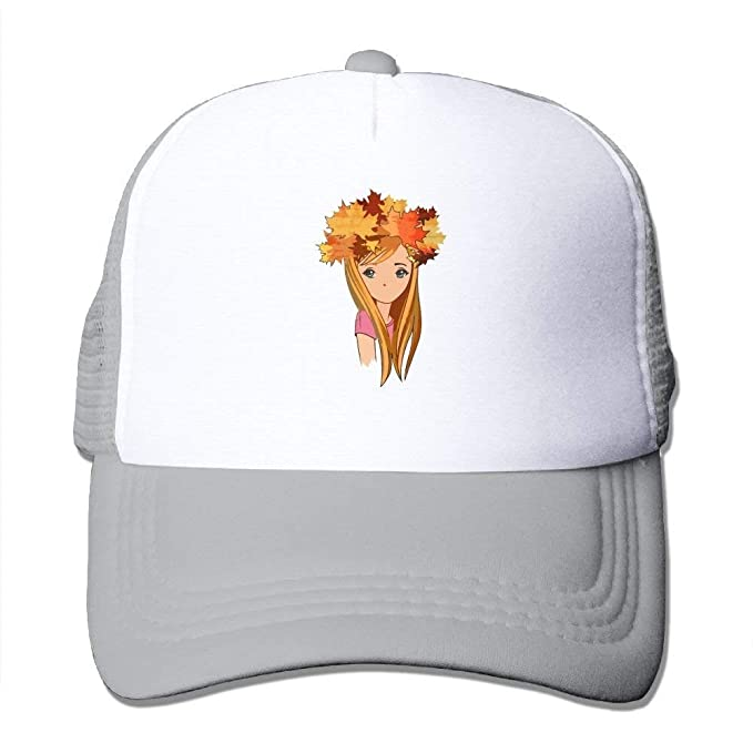 new style 6fba1 47fc6 loserduck Girl Wearing Leaves Mens Practical Structured Hat Cap