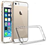 iPhone 5S Case, iPhone 5 Case,iPhone SE Case,GETE Lightweight Soft Clear Slim Crystal full body protection phone cases cover for Apple iPhone 5 5S SE (Clear)
