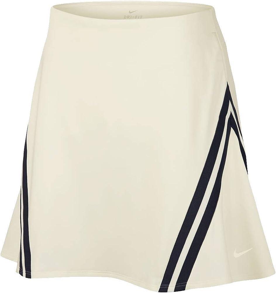 Nike Dri-FIT UV Falda, Blanco (Blanco 133), Small (Tamaño del ...