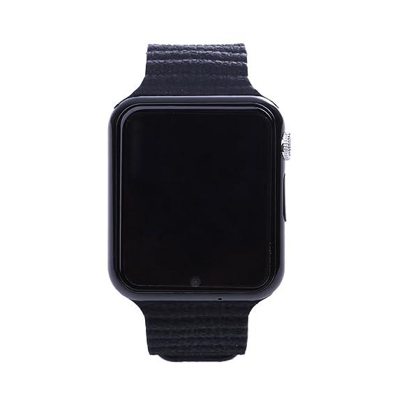 Smartwatch Niños Reloj Inteligente Mujer y Hombre Demiawaking Inteligente Pulsera para iPhone y Android con Cámara Seguridad Anti-Lost GPS Tracker ...