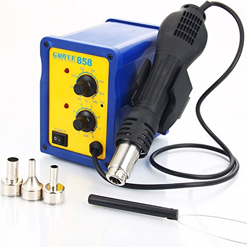 GAOYUE 858 2in1 110V 50Hz 400W Heat Gun SMD Rework Soldering Station Hot Air Blower Gun