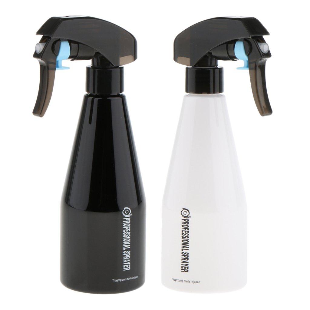 Sharplace 2x Professionnel Vaporisateur d'Eau en Plastique pour Coiffure + Pulvérisateur en Brouillard pour Plant/Jardin - 250ml