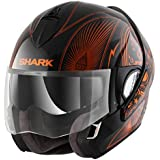SHARK Helmets EVOLINE SERIES 3 Mezcal Chrome - Black / Orange Chrome - L