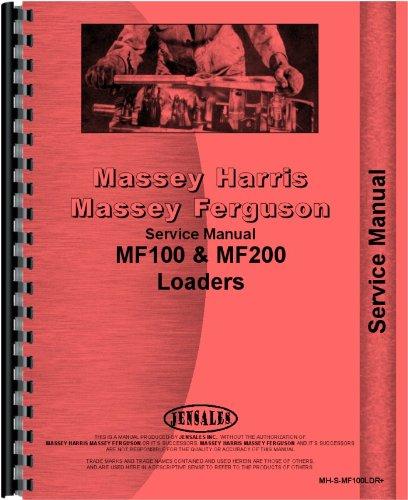 Download Massey Ferguson 65 Loader Attachment 100 Service Manual pdf epub
