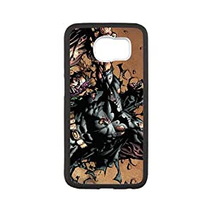 Custom Batman Desgin High Quality TPU Case Cover Unique Durable Hard Plastic Case Cover for Samsung Galaxy S6
