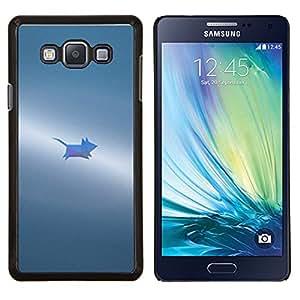 Stuss Case / Funda Carcasa protectora - Gris Pequeño Pintado Lindo - Samsung Galaxy A7 ( A7000 )
