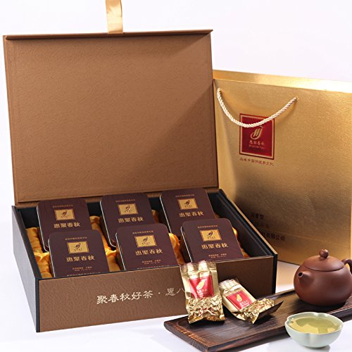 SHI Hui poly spring and autumn Tieguanyin tea gift box, Anxi Tieguanyin tea autumn, alpine orchid fragrance 480g by CHIY-GBC ltd