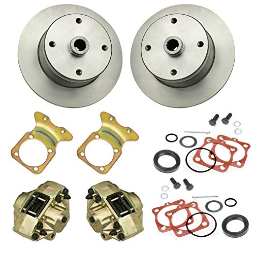 Empi Disc Brake Kit, 4 Bolt Rear, Dune Buggy Baja Bug