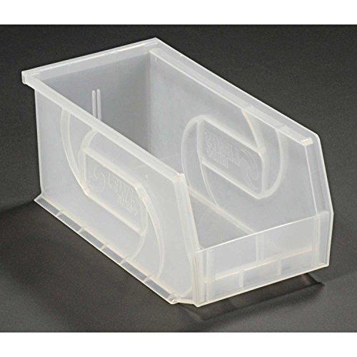 LEWISBins PB105-5CLEAR Plastic Stacking Bin - 5-1/2