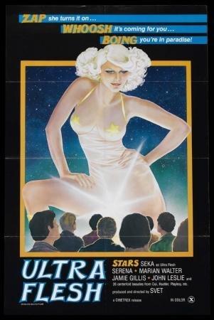 (Ultra Flesh Movie Poster 11x17 Master Print)