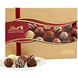 Lindt LINDOR Assorted Chocolate Gourmet Truffles, Gift Box, Kosher, 7.3 Ounce