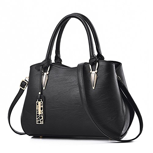 Zonlin for Shoulder Bags Bag Ladies Portable Handbag Messenger Women Casual Black T8qwTRr