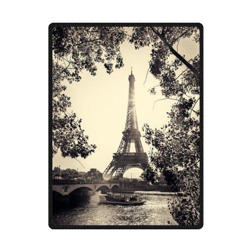 高品質、快適なエッフェル塔パリのカスタムBlanket 58
