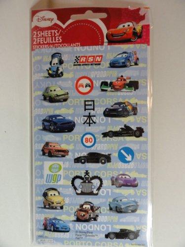 Disney Cars Sticker Album with 8 Sticker Sheets
