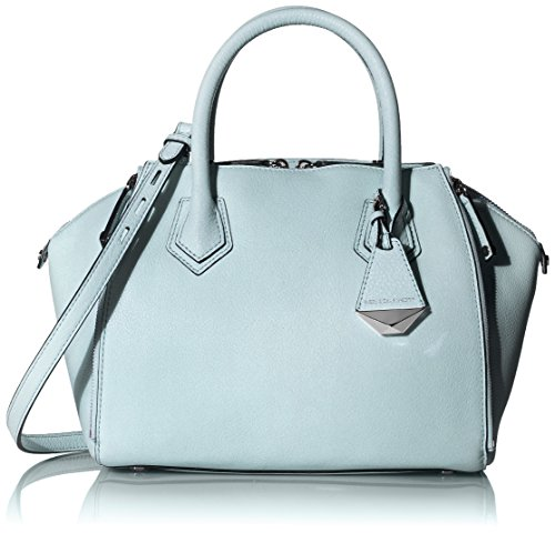 Rebecca Minkoff Mini Perry Satchel Shoulder Bag, Bleached Blue, One Size