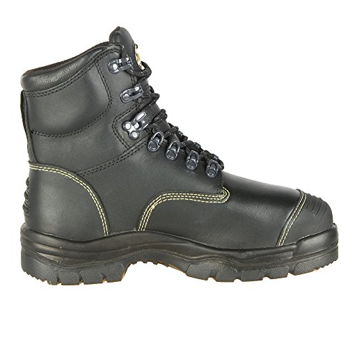 Oliver 55 Series 6'' Leather Steel Toe Puncture-Resistant Men's Metatarsal Boots, Black (55246) by Honeywell (Image #5)