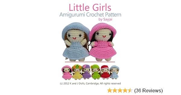 Amazon Little Girls Amigurumi Crochet Pattern Easy Crochet