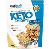 KETO Crackers, 4 gram NET CARB per 5 crackers, Zero Sugar, Organic Gluten Free