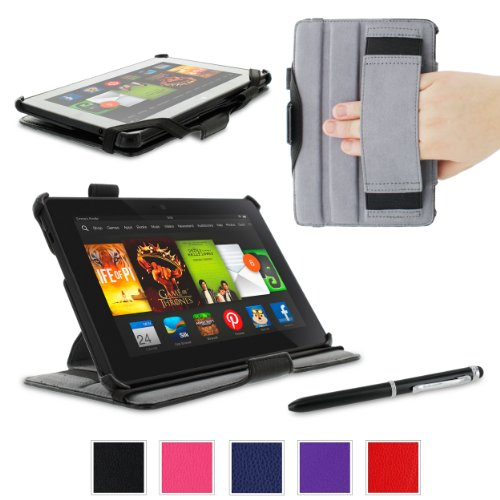 rooCASE Amazon Kindle Fire HDX 7 Case Slim Fit Multi Angl...