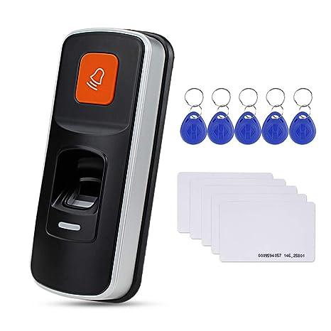 Amazon com : HFeng Fingerprint Door Locks System RFID Access