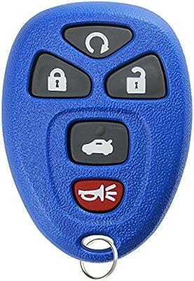 amazon com keylessoption keyless entry remote start control car keykeylessoption keyless entry remote start control car key fob replacement for 22733524 blue