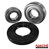 Nachi Front Load Frigidaire Washer Tub Bearing and Seal Kit Fits Tub 131525500 (5 year replacement warranty and full HD ''How To'' video included)