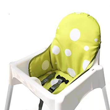 Washable Foldable Baby... Ikea Antilop Highchair Seat Covers /& Cushion by Zama