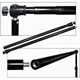 Crossbar 12ft Telescopic 2 Section Twist Locking Background Support Cross Bar Steve Kaeser Photographic Lighting & Accessories