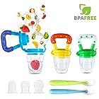 Baby Food Feeder, YCGRE Reusable Fresh Fruit Nibbler Pacifier BPA Free Infant Teething